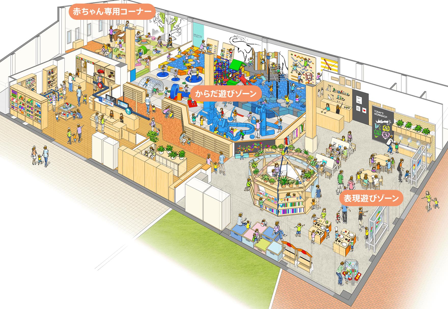 プレイヴィル 大阪城公園