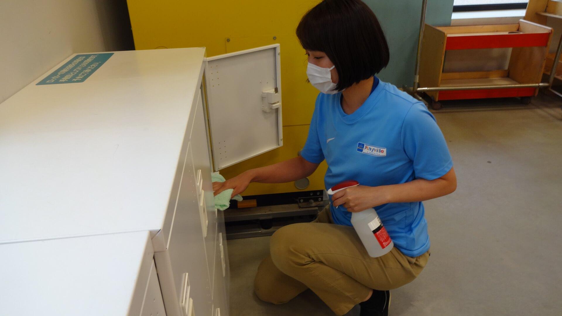 衛生管理・清掃について